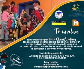 Workshop for health professional-Los Cabos Children Foundation
